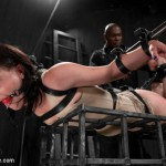 Metal desire for Lyla : Metal Bondage