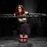 Sarah Shevon bondage : Leather Bondage